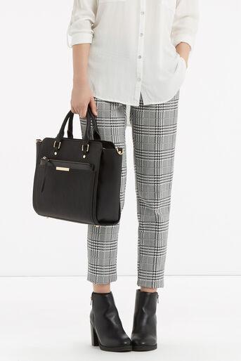Oasis, Scarlett Work Bag with Clutch Black 1
