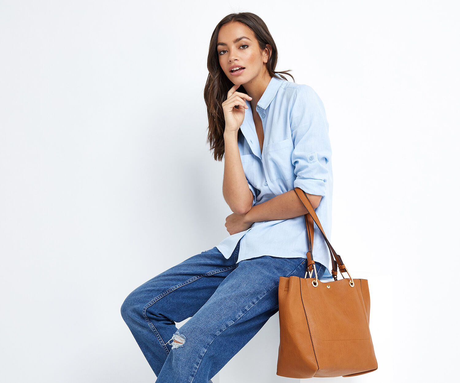 Oasis, TILLY TOTE Tan 1