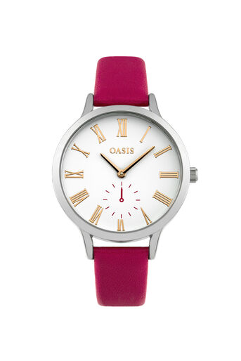 Oasis, Matte Dial Watch Mid Pink 0