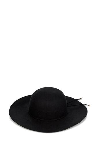 Oasis, FELT FLOPPY HAT Black 0