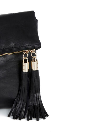 Oasis, LEATHER FREDA SATCHEL Black 3