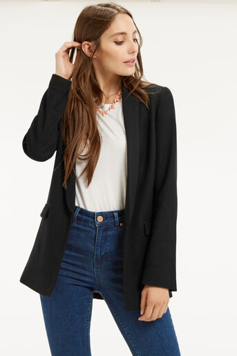 Oasis, The Boyfriend Jacket Black 1