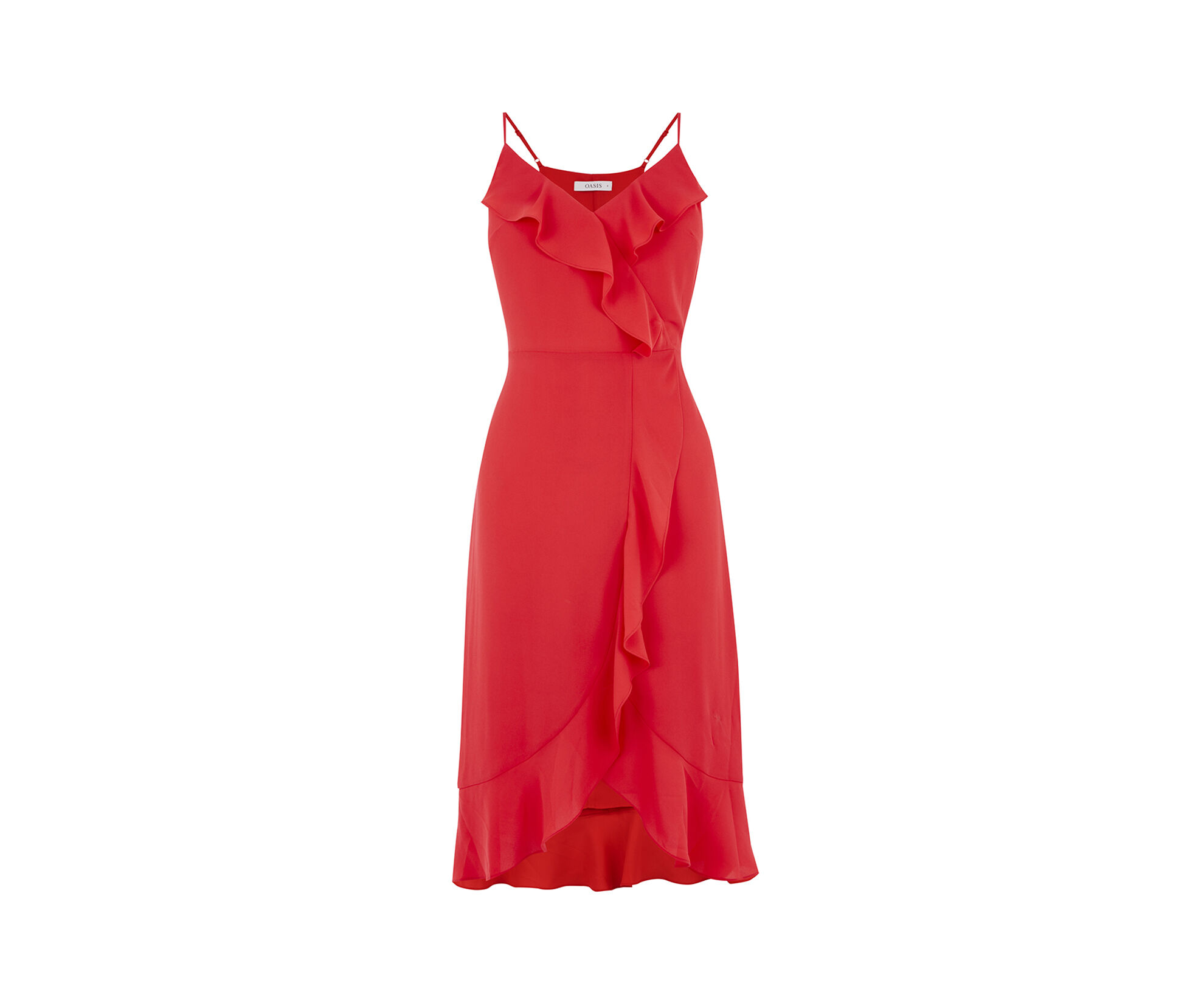 Red long dress outfit handforth