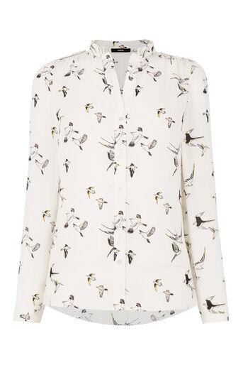 Oasis, Bird Print Shirt Multi 0