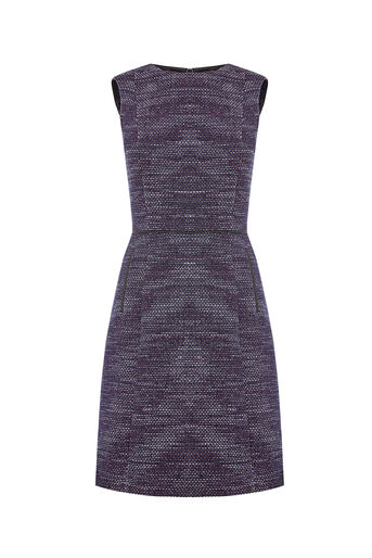 Oasis, Long Length Merlot Tweed Shift Berry 0