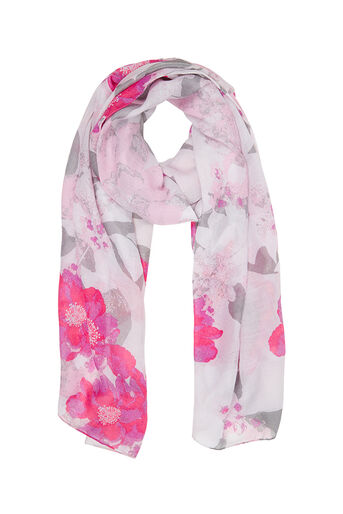 Oasis, NEO FLORAL PRINT SCARF Multi 0