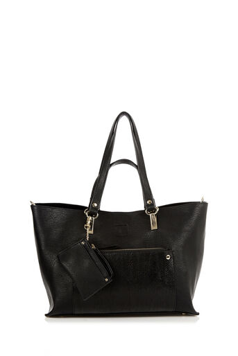 Oasis, NANCY SHOPPER BAG Black 0