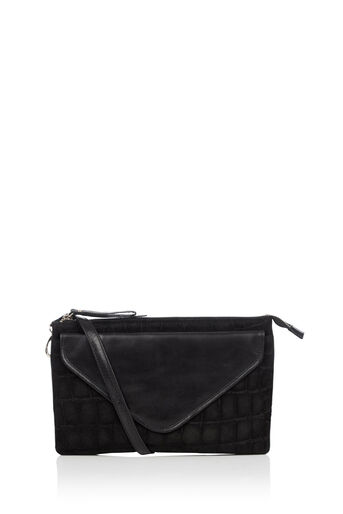 Oasis, FIFI LEATHER CROSS-BODY BAG Black 0