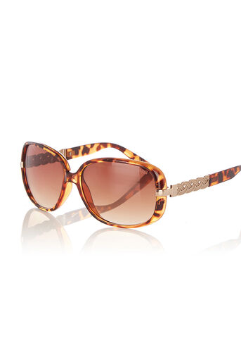 Oasis, CHARLOTTE SUNGLASSES Mid Brown 0