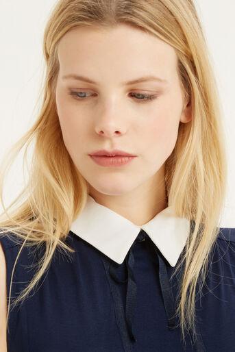 Oasis, Collar T-Shirt Navy 4
