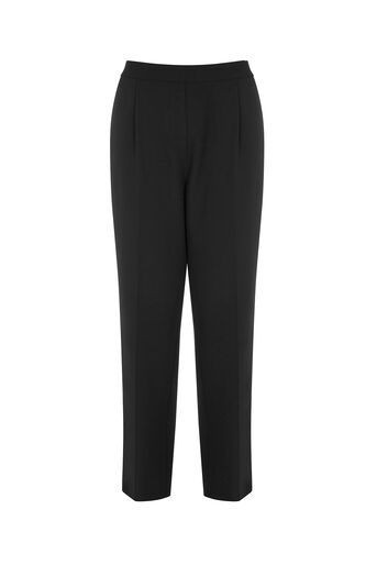 Oasis, SOFT SPORTY TROUSERS Black and White 0