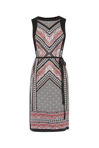 Oasis, Printed Midi Dress Multi 0
