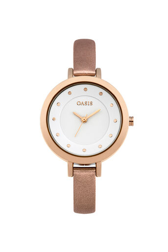 Oasis, Minimalist Watch Rose Gold 0