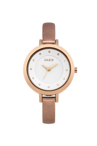 Oasis, Minimalist Watch Crystal 0