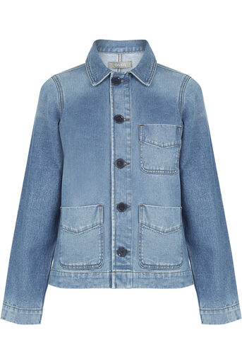 Oasis, Authentic utility jacket Denim 0