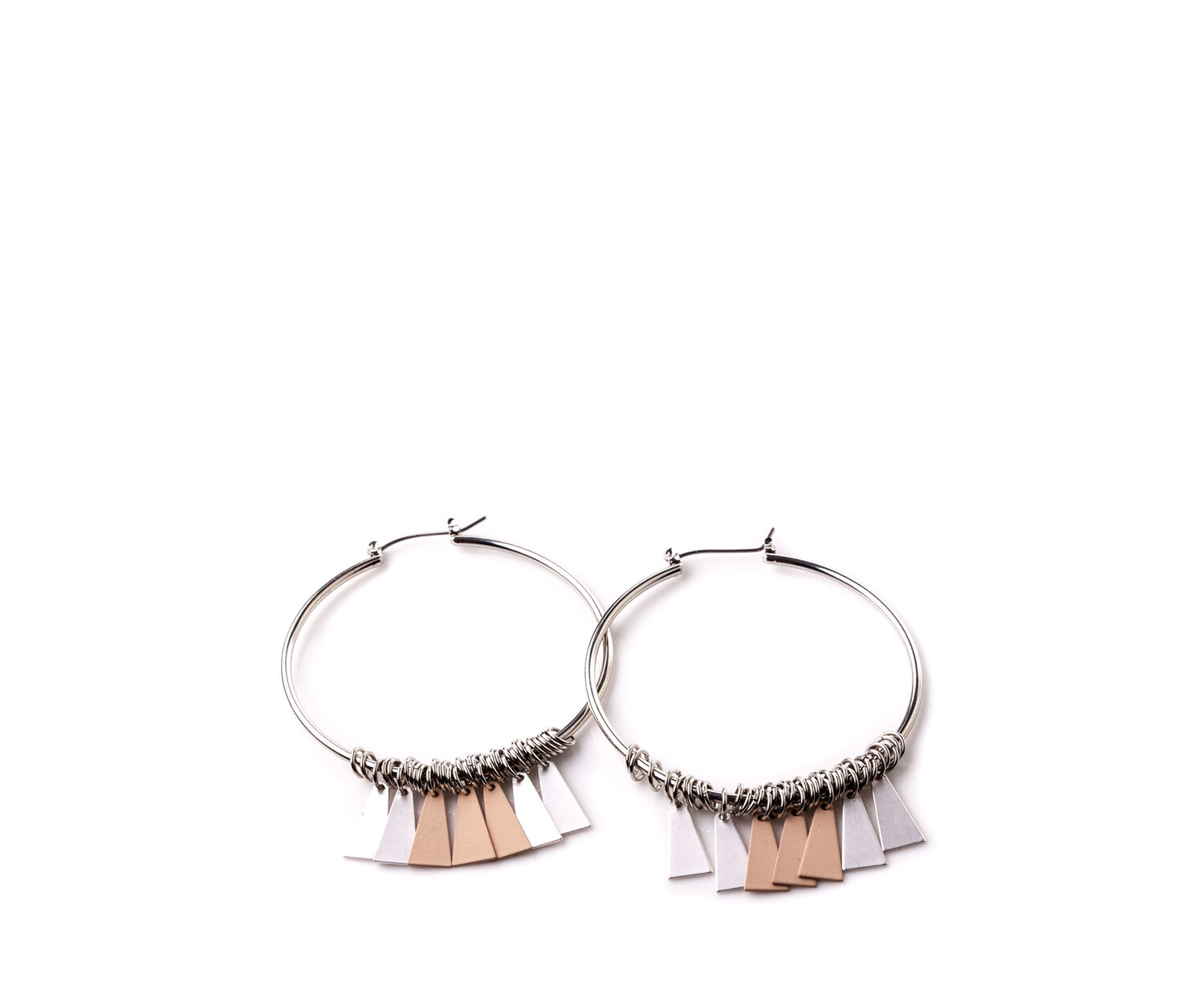 Oasis, LUXE HOOPS Silver 1