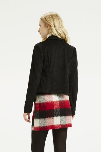 Oasis, Suedette Biker Jacket Black 3