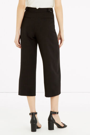 Oasis, Cropped Trouser Black 3