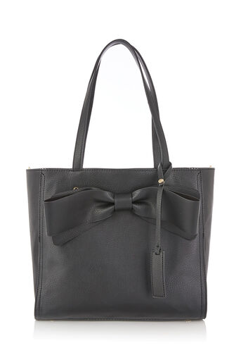 Oasis, BILLIE BOW TOTE Black 0