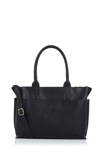 Oasis, Dotty Tote Bag Black 0