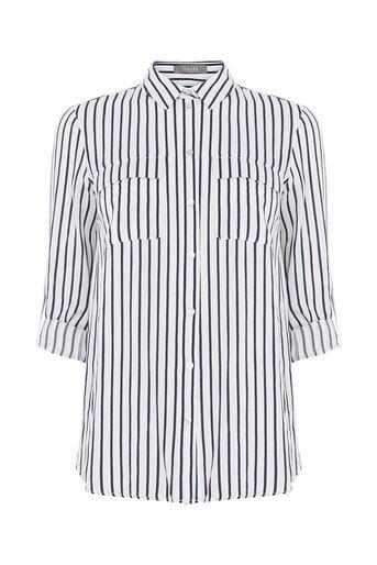 Oasis, Stripe Shirt Multi Blue 0
