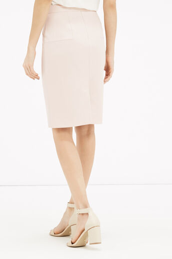 Oasis, Bonnie Workwear Skirt Mid Neutral 3