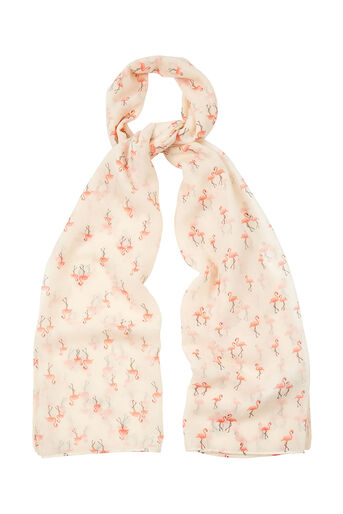 Oasis, FLAMINGO SCARF White 0