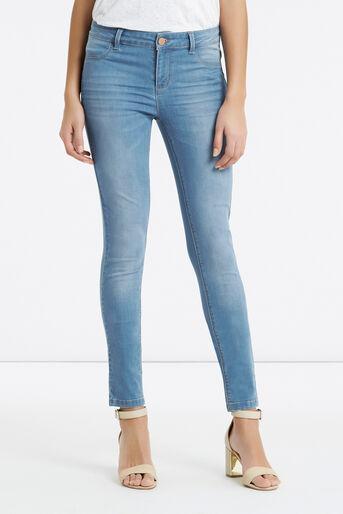 Oasis, Jade Skinny Jeans Light Wash 1