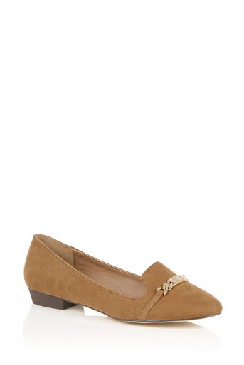 Oasis, CHAIN LOAFER Tan 2