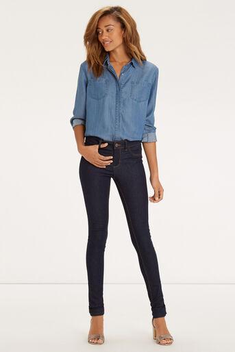 Oasis, Classic Skinny Jeans Dark Wash 2