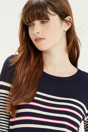 Oasis, Verigated Stripe Jumper Multi 4