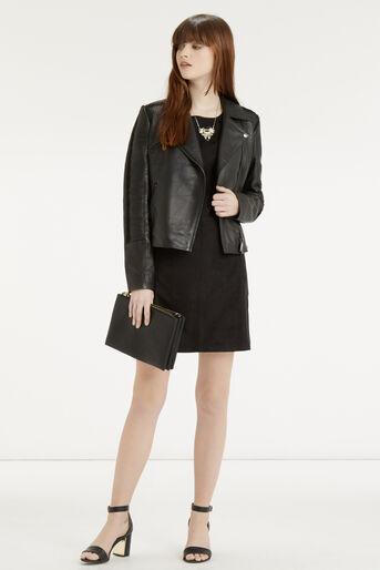 Oasis, Suedette Dress Black 2