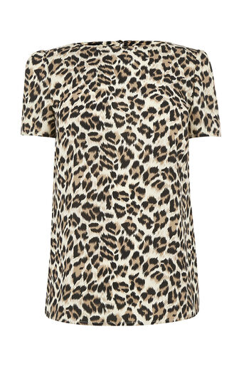 Oasis, ANIMAL PRINT FORMAL TEE Multi 0