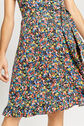 Oasis, LONG DITSY SKATER DRESS Multi 4