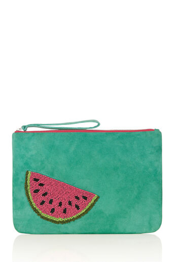 Oasis, WATERMELON CLUTCH Turquoise 0