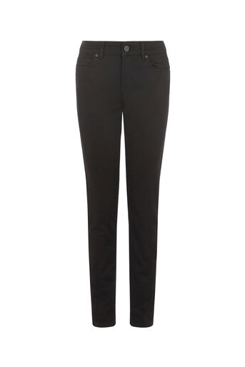 Oasis, Sculpting Slim Leg Jeans Black 0
