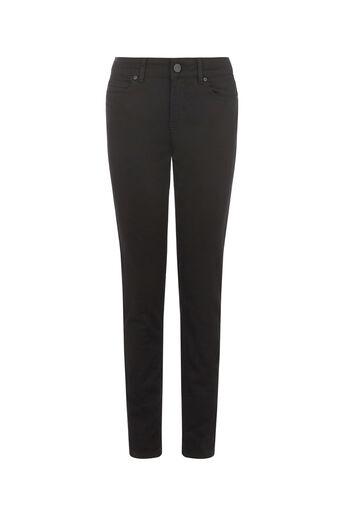 Oasis, Sculpting Slim Leg Jeans Black 0