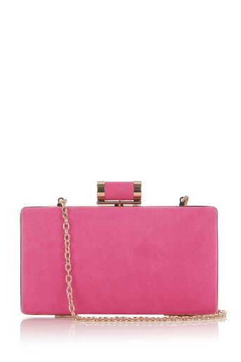Oasis, HOLLY BOX CLUTCH - MICRO Mid Pink 0