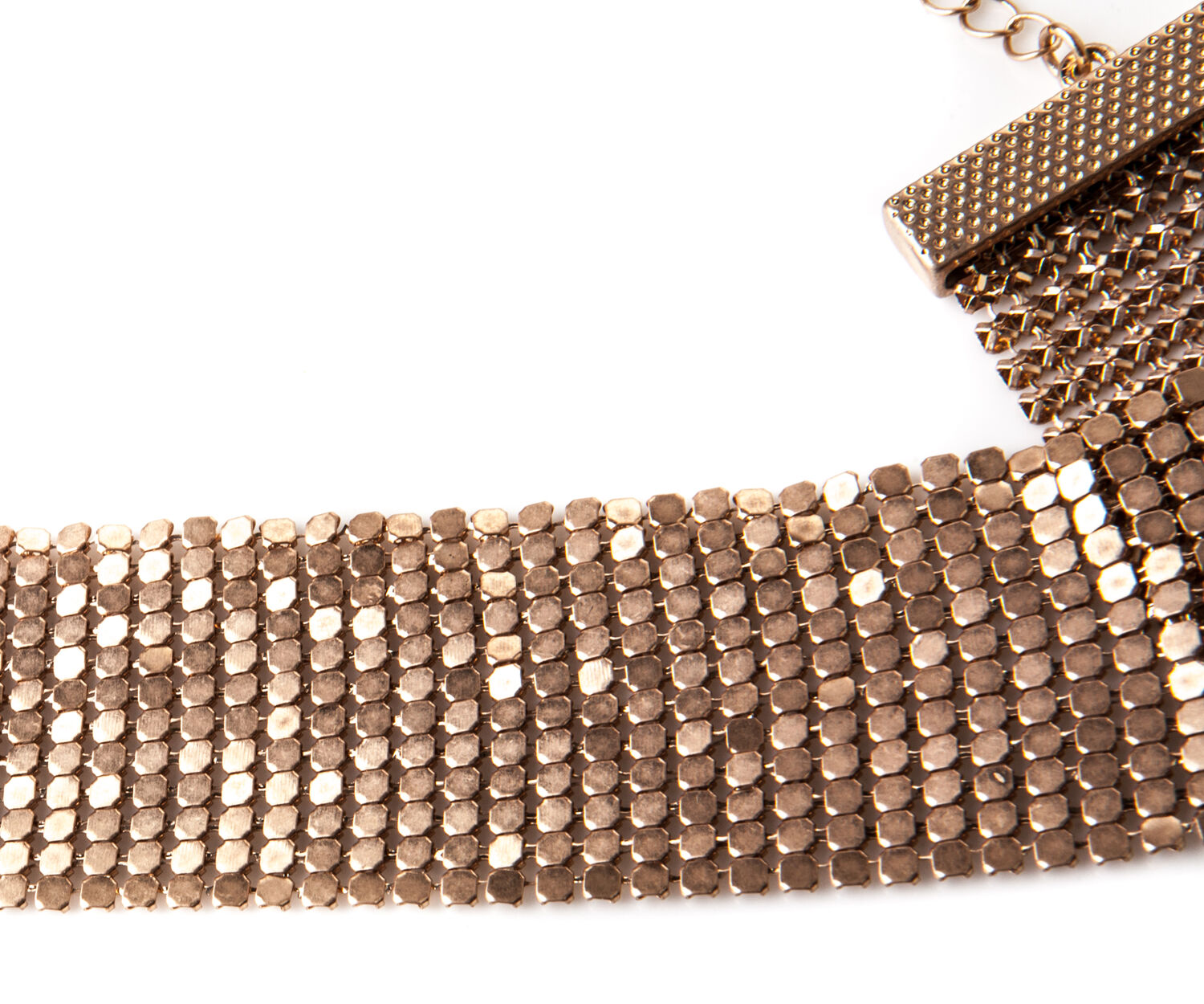 Oasis, CHAINMAIL CHOKER Gold 1