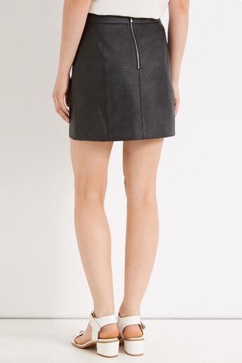 Oasis, Alana Mini Skirt Black 3