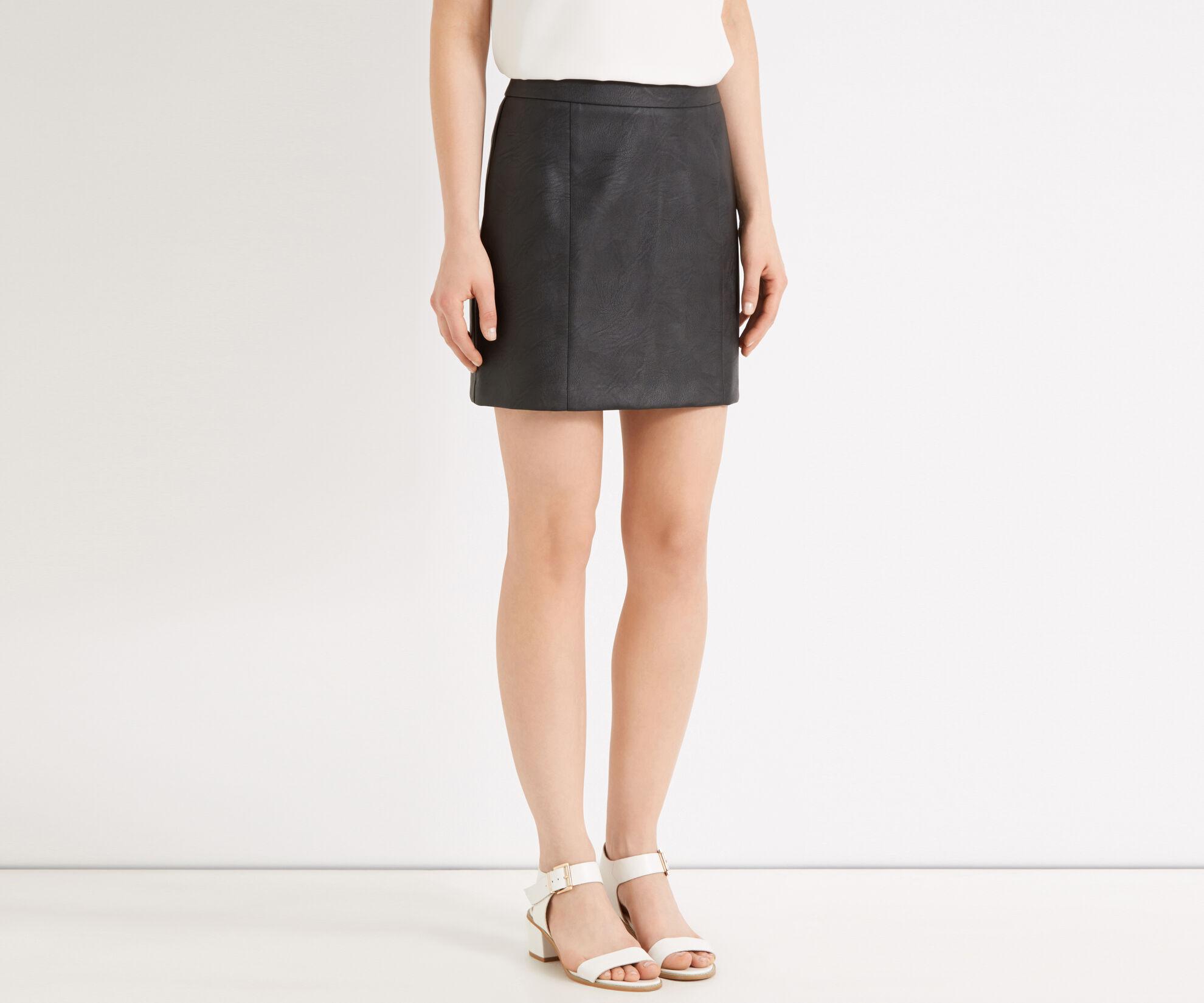 Oasis, Alana Mini Skirt Black 1