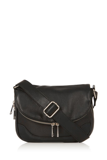 Oasis, LILA LEATHER BAG Black 0