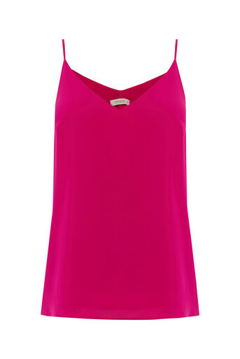 Oasis, V Neck Cami Bright Pink 0