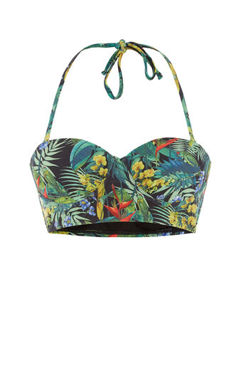 Oasis, Tropical Penang Bikini Top Black 0