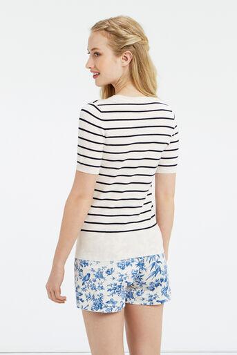 Oasis, Embellished stripe knit Multi 3