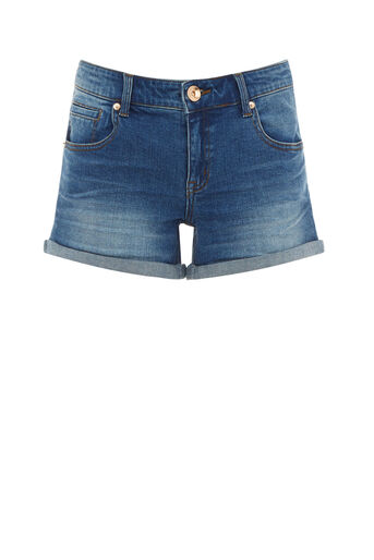 Oasis, MILLIE DENIM SHORT Denim 0