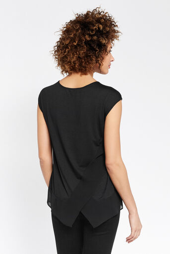 Oasis, DIGITAL PEONY TOP Black 3