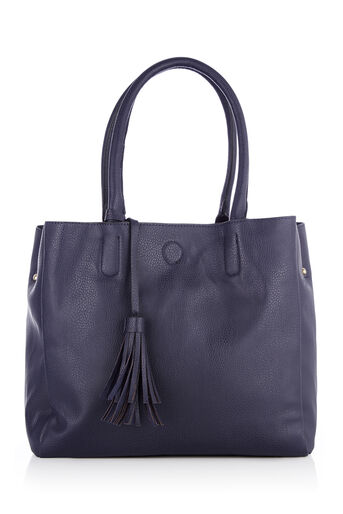 Oasis, TRUDY TOPHANDLE TOTE Navy 0