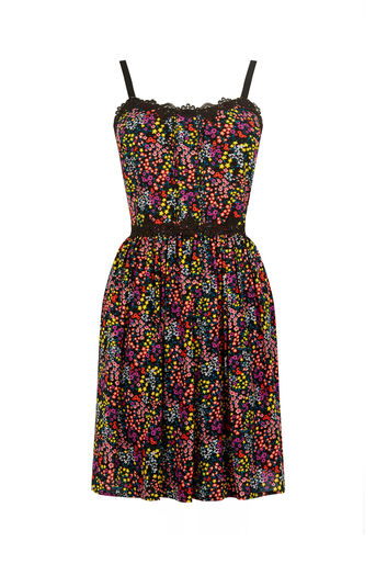 Oasis, DITSY LACE SUN DRESS Multi 0