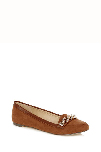 Oasis, Lauren Chain Loafer Tan 0
